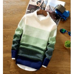 Costbuys  2018 New Spring and Autumn Fashion Casual Sweater O-Neck Slim Fit Knitting Mens Sweaters And Pullovers Men Pullover Me