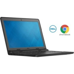 """Dell Chromebook with 11.6"""" Display, Intel Dual-Core, 4GB RAM, 16GB SSD, Chrome OS"""