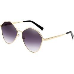 Costbuys  Retro Oval Sunglasses Men Metal Sun glasses Ladies Mirror Glasses Vintage Transparent oculos de sol masculino - Gray
