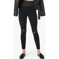 Joe's Jeans Women's The Icon Ankle Skinny Jeans in Dannel/Black | Size 23 | Cotton/Spandex/Polyester