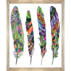 Feather Bright Print With Frame