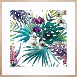 Grandiflora Acrylic Print With Frame