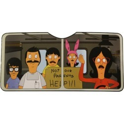 Bob's Burgers Car Sun Shade found on Bargain Bro Philippines from Toynk Toys for $25.99