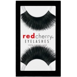 Red Cherry #199 Hazel False Eyelashes, Fake Lashes Black found on Makeup Collection from FalseEyelashes.co.uk for GBP 4.15