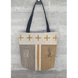 Tote Bag - Ancient Fragments by VIDA Original Artist