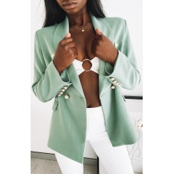 Lioness Kendall Jacket Pistachio - L found on MODAPINS from beginning boutique for USD $49.18