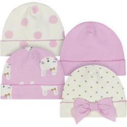 Just Born® Bunny 8-Pack Cap and Mitten Bundle - Newborn
