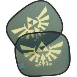 The Legend of Zelda Car Auto Sunshades Licensed Nintendo Car Accessory found on Bargain Bro Philippines from Toynk Toys for $11.99