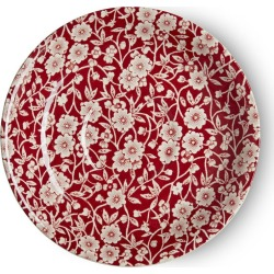 Red Calico Breakfast Saucer Seconds found on Bargain Bro UK from Burleigh