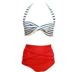 ed144898fae Costbuys Swimwear Female Summer Women Sexy Bikini Set Swimsuit Beachwear  Bathing Suit - L found on