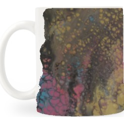 Classic Mug - Love For Gold 4 in Brown/Green/Yellow by VIDA Original Artist found on Bargain Bro India from SHOPVIDA for $20.00