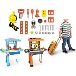 Lil' Luggage Playset - Builder, Chef, Vanity, or Doctor found on Bargain Bro India from Until Gone for $28.99