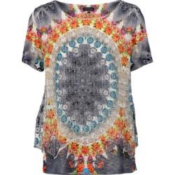 Kaleidoscope Print Top found on Bargain Bro UK from Izabel London UK