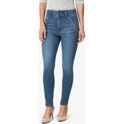 Joe's Jeans Women's The High Rise Jeans in Coyote/Medium Indigo   Size 24   Cotton/Spandex/Polyester