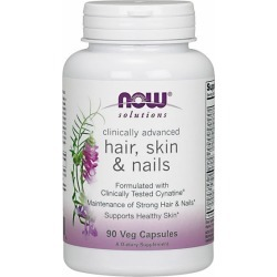 Advanced Hair - Skin and Nails 90 Caps by Now Foods found on MODAPINS from Herbspro for USD $29.99