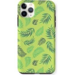 iPhone Case - Tropical Leaves 8 in Green by VIDA Original Artist