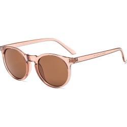Costbuys  Round Sunglasses Retro Women Ladies Vintage Sunglasses Male Fashion for Travel Brand Designer JH9003 - Champagne