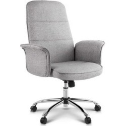 Modern Office Fabric Desk Chair - Grey found on Bargain Bro India from Simply Wholesale for $159.47