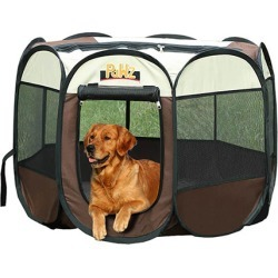 Dog Playpen Pet Foldable Panel Tent Cage Portable Puppy Crate 30 Inch