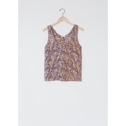 6397 Floral Print Tank Purple Size: Small found on MODAPINS from la garconne for USD $275.00