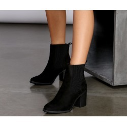 Out Of Sight Chelsea Booties