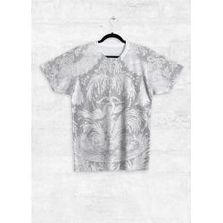 Unisex Tee - Front Print - Rubino White Lace in White by Tony Rubino Original Artist found on Bargain Bro India from SHOPVIDA for $50.00