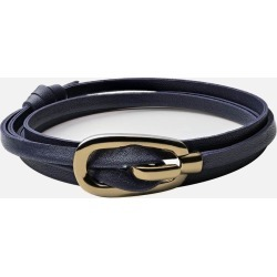 Miansai Bracelet - New Gamle Leather Bracelet, Gold Plated found on MODAPINS from miansai for USD $45.00