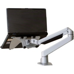 Larkspur Extended Reach Single Monitor Arm Light Monitor/Notebook Arm / Black found on Bargain Bro India from Relax The Back for $189.00