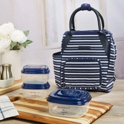 Piper Mini Backpack with Reusable Container Set