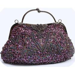 Costbuys  Women Bag Fashion Evening Bag Party Clutch Handbag Slap-up Shiny Bride Purse Wedding Woman Birthday Gift For Women - P