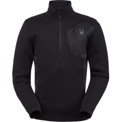 Spyder Men's Bandit Fleece Jacket Size Small in Black