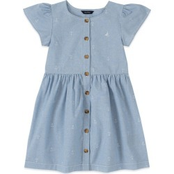 Nautica Toddler Girls' Anchor Print Chambray Dress (2T-4T) found on Bargain Bro Philippines from Shop Premium Outlets for $39.50