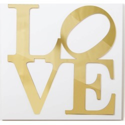 Love Mirrored Wall Art | Decor found on Bargain Bro India from Dormify for $99.00
