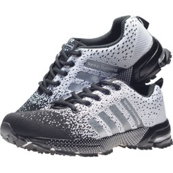 Costbuys  Men Outdoor Running Shoes Lightweight Breathable Mesh Fabric Couple Sneakers Athletic Trainers Sports Women Shoes 14 -