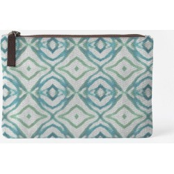 Carry-All Pouch - Coastal Groove Juul Pc in Blue/Green by VIDA Original Artist
