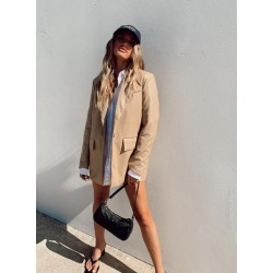 Jocelyn Jacket Beige found on MODAPINS from Princess Polly US for USD $108.00