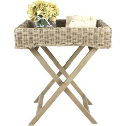 Rattan Butlers Tray