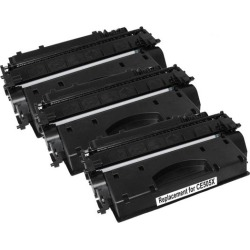 CE505X HP 05X Cart 319ii Black Premium Generic Toner Set of 3 found on Bargain Bro India from Simply Wholesale for $69.41