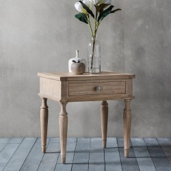 Surrey One Drawer Side Table