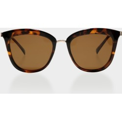 Le Specs - Womens Caliente Sunglasses in Tortoiseshell and Rose Gold found on MODAPINS from glue store for USD $63.40