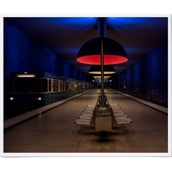 Munich Subway Station