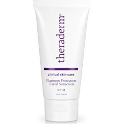 Theraderm Platinum Protection Facial Sunscreen found on Bargain Bro UK from Face the Future