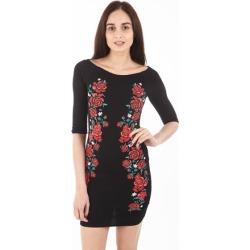 Floral Embroidered Bardot Dress found on Bargain Bro UK from Izabel London UK