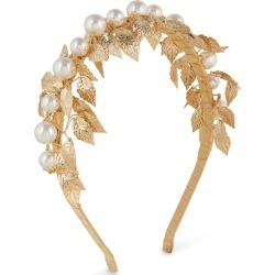 Alice & Blair Esme Headband - Gold - Gold found on Makeup Collection from Oxygen Boutique for GBP 67.57