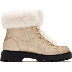 Katy Perry Strappy Boot in Champagne Size 6.5 | The Henry