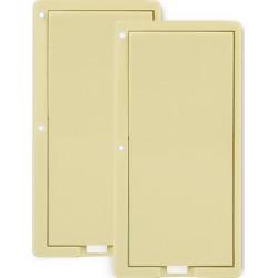 Paddle Change Kit for On/Off Switch - Ivory (2 LED)