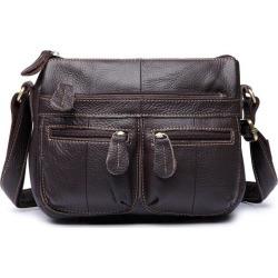 Costbuys  Designer Women Messenger Bags Crossbody Soft Genuine Leather Shoulder Bag High Quality Fashion Women Bags Handbags - C