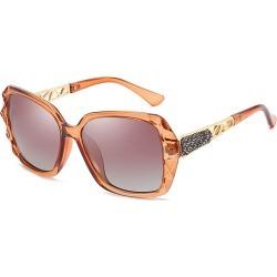 Costbuys  Women Square Sunglasses Luxury Style Vintage Sun Glasses Eyewear Gafas Gradient Shades Oculos de sol - 01