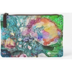 Carry-All Pouch - Carry All Essence 36-1 in Green/Purple by VIDA Original Artist
