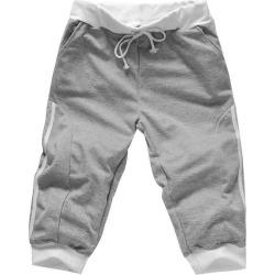 Costbuys  Outdoor Sport Fitness Running Basketball Shorts mens capri Shorts men's trousers elastic waist hip hop 3/4pants - Gray